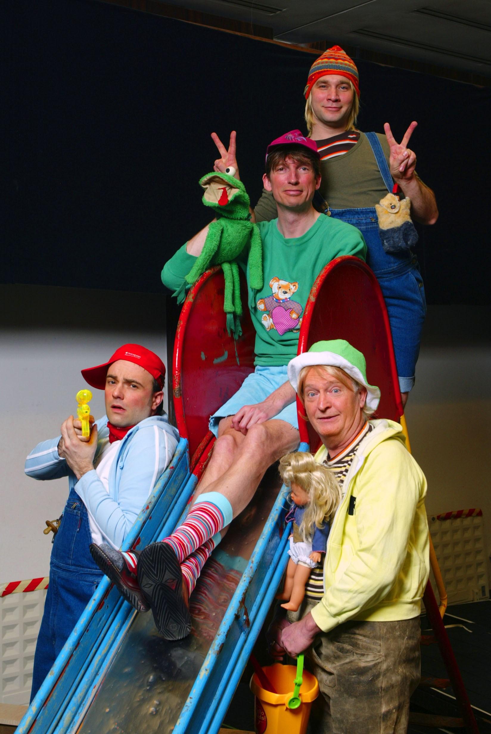 Mütter - v.l.n.r. Alexander Geringas, Günter Märtens, Marc Letzig, Niels Hansen - Foto: Oliver Fantitsch