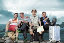 Mann o Mann - Die Midlife-Crisis-Revue - v.l.n.r.: Aleander Wipprecht, Stefan Gossler, Max Gertsch, Stephan Schill - © David Baltzer