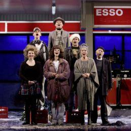 Nacht Tankstelle Ensemble © Oliver Fantitsch