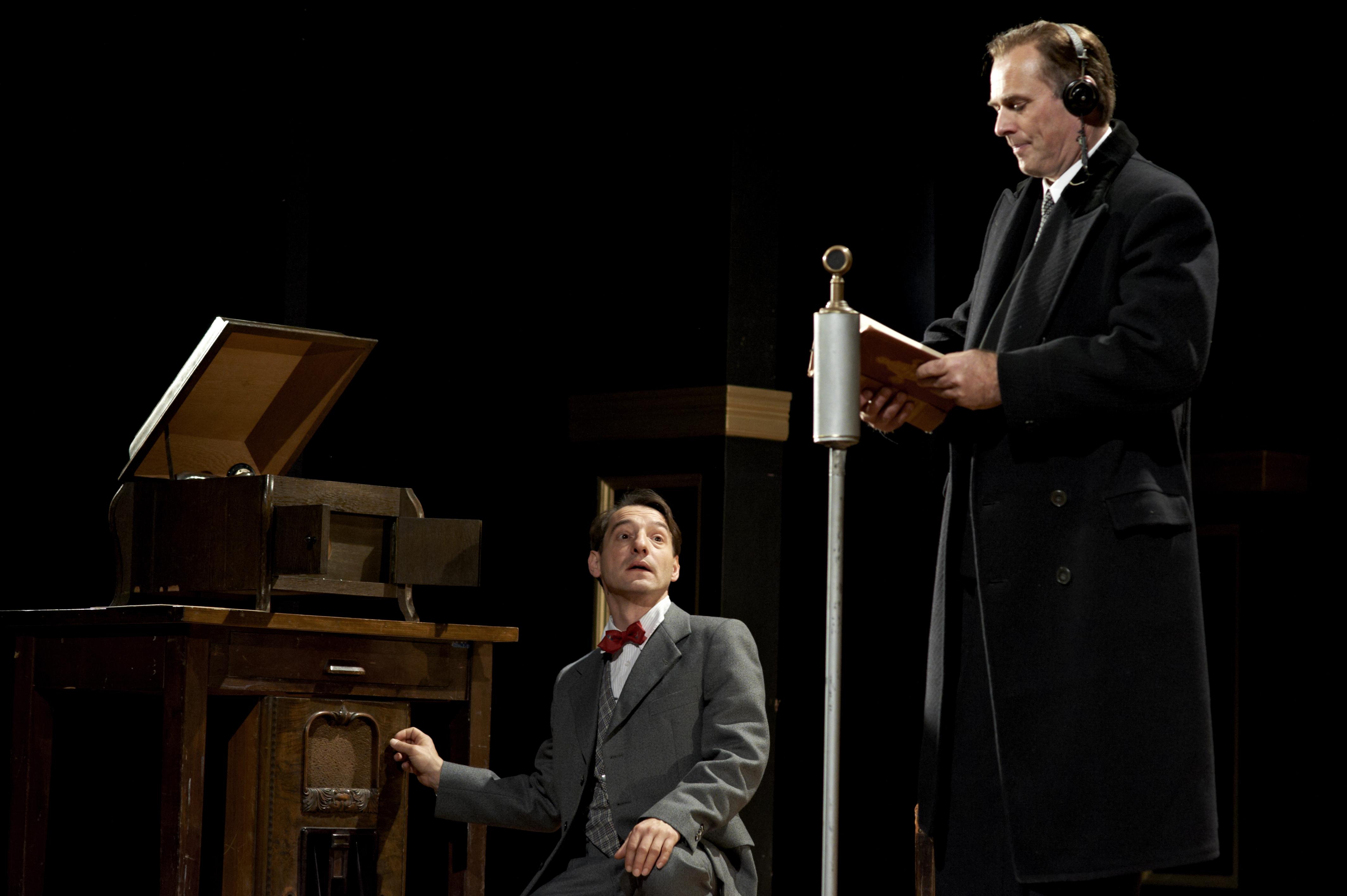 The King´s Speech - Die Rede des Königs - Boris Aljinovic und Marcus Blum - © Sven Heine