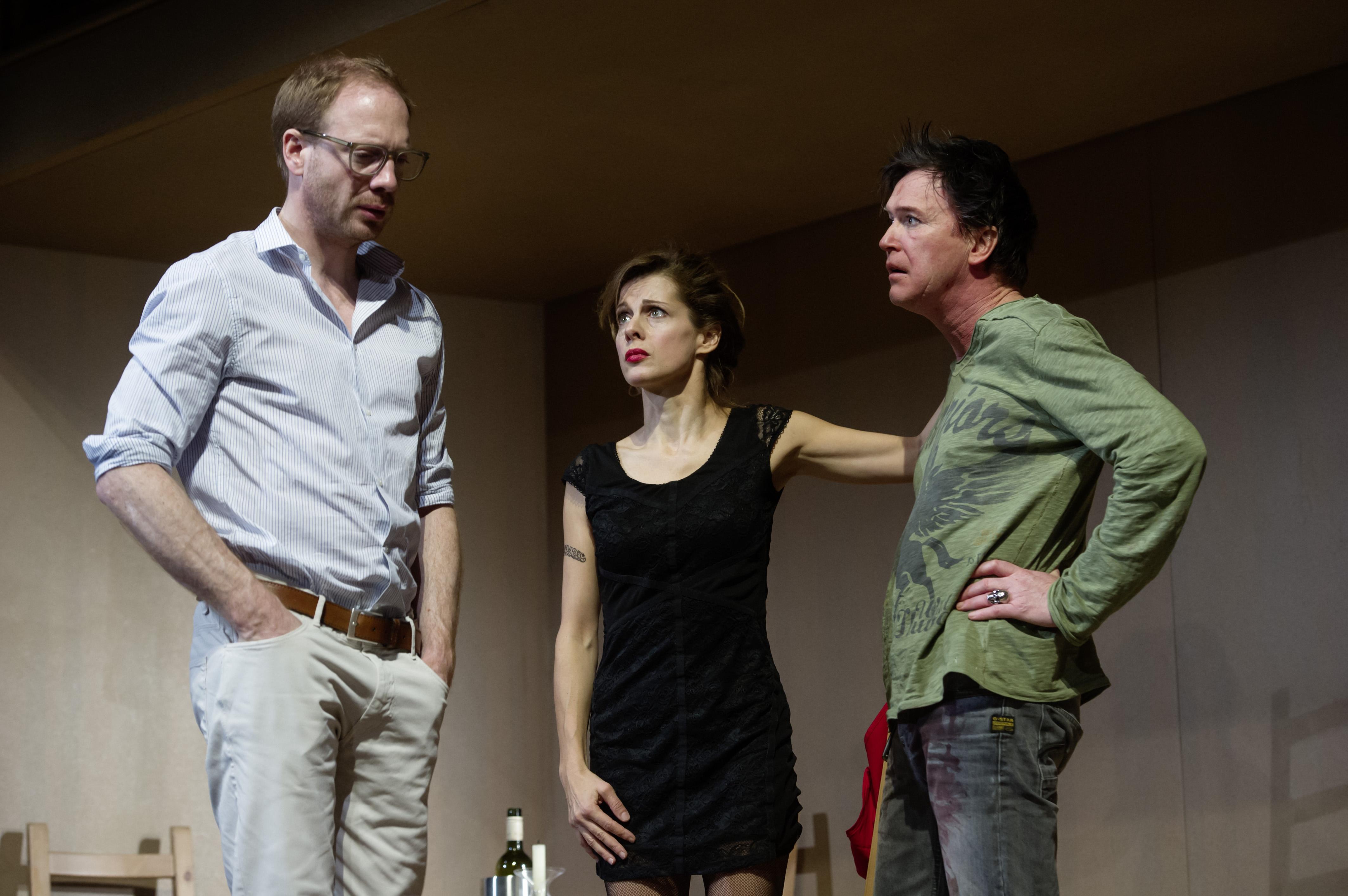 Waisen v.l.n.r.: Johann von Bülow, Judith Rosmair, Uwe Bohm © Oliver Fantitsch