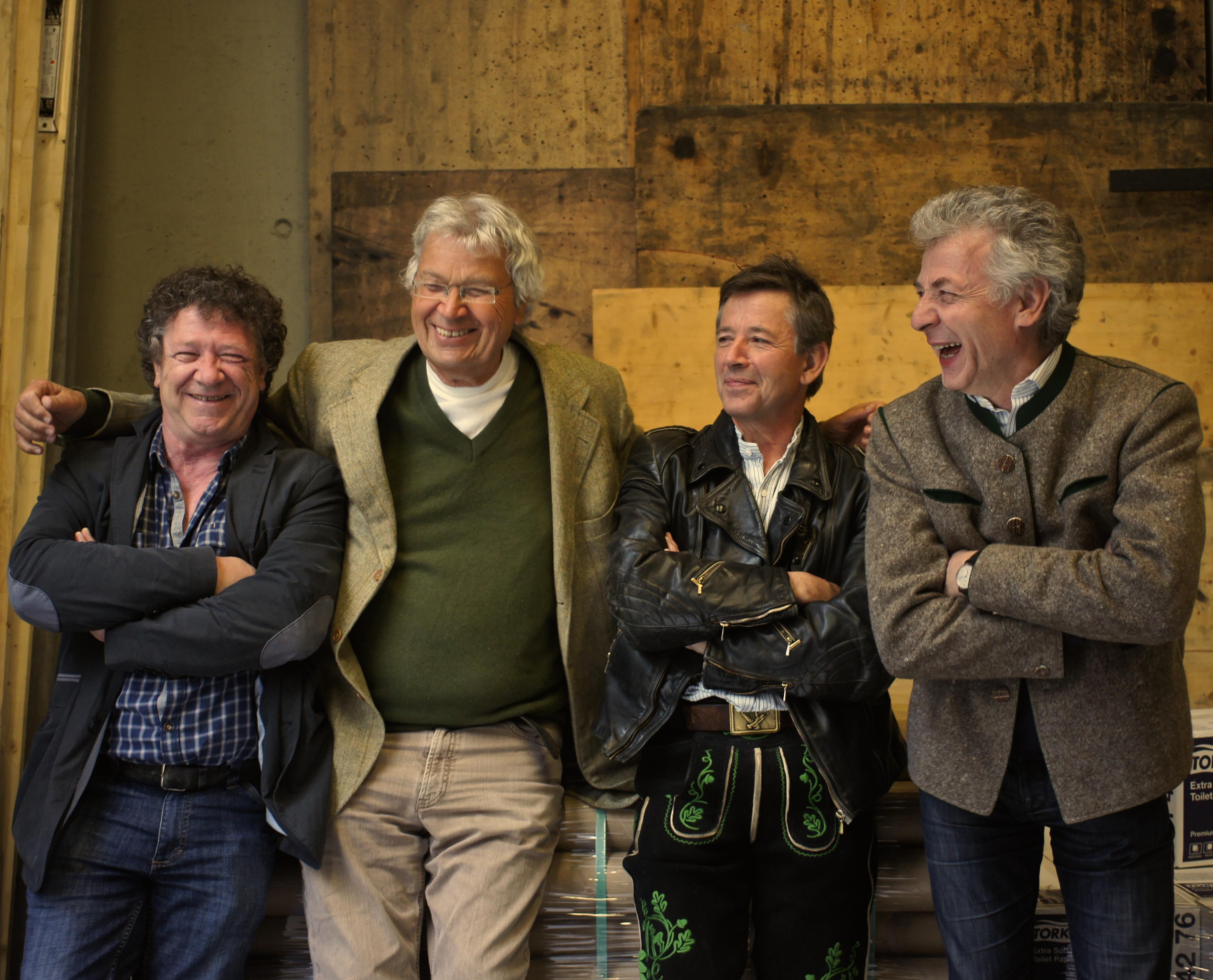 Gerhard Polt & die Well-Brüder aus'm Biermoos Foto: wellbrueder.de Abdruck bei Nennung des Fotocredits honorarfrei