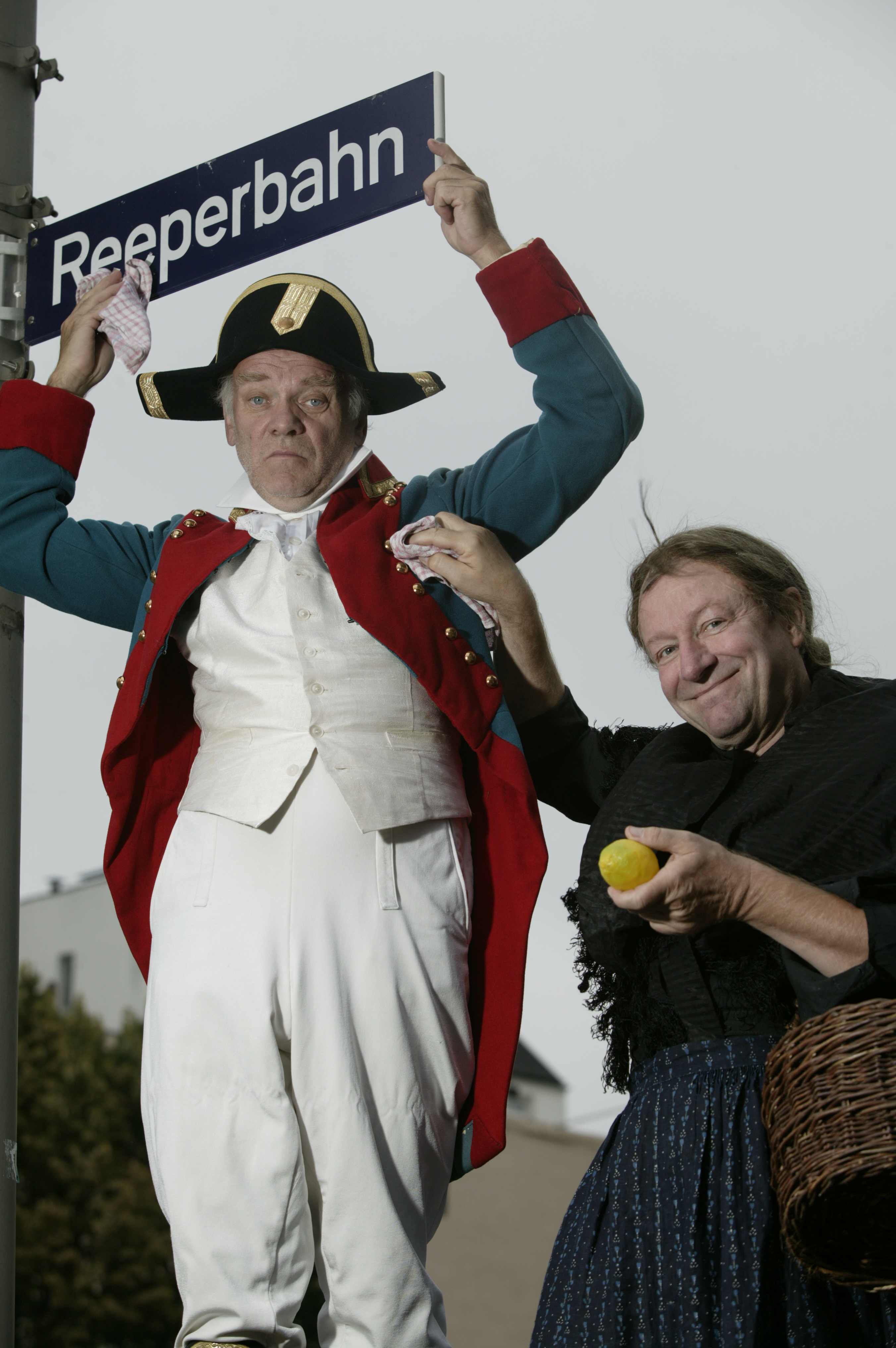 Auf der Reeperbahn - Die St. Pauli Revue - Peter Franke und Gerhard Garbers - Foto: Stefan Malzkorn