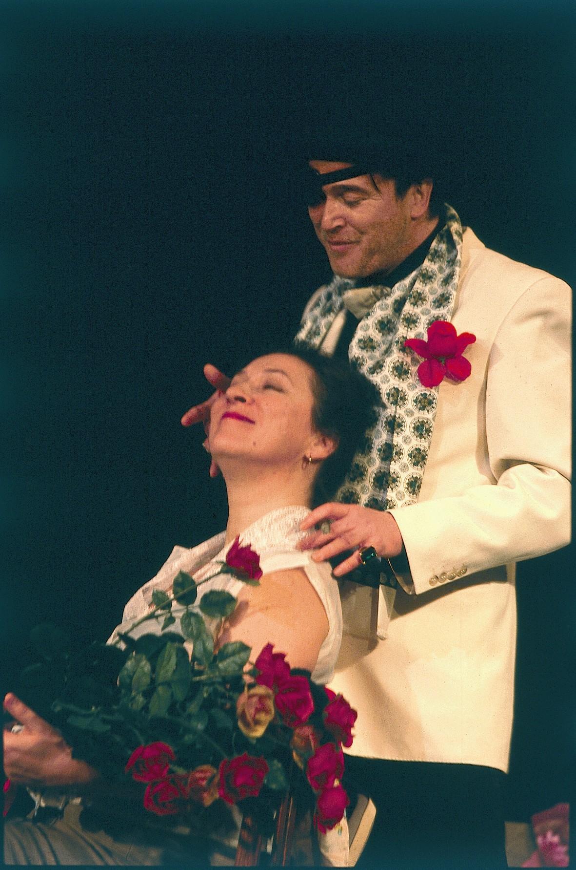 Der bittere Honig - Eva Mattes, Uwe Bohm - © St. Pauli Theater