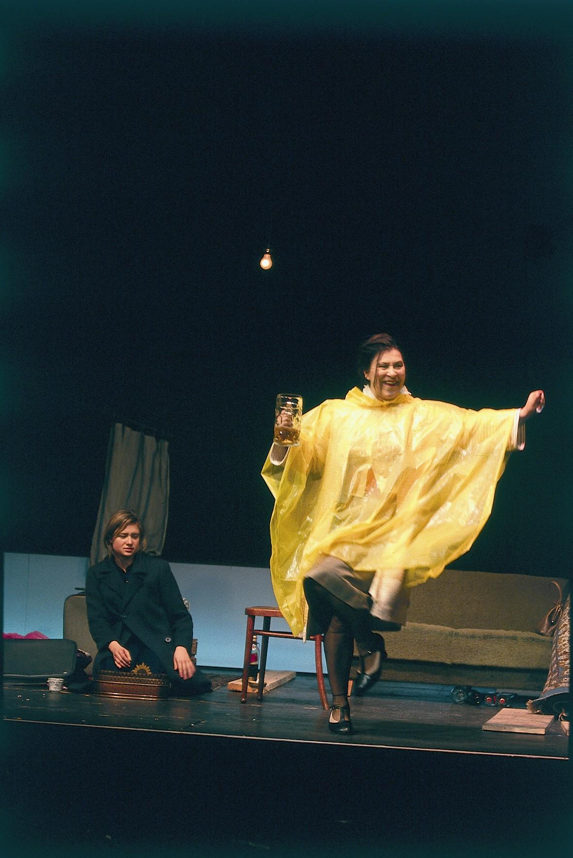 Der bittere Honig - Julia Jentsch und Eva Mattes - © St. Pauli Theater