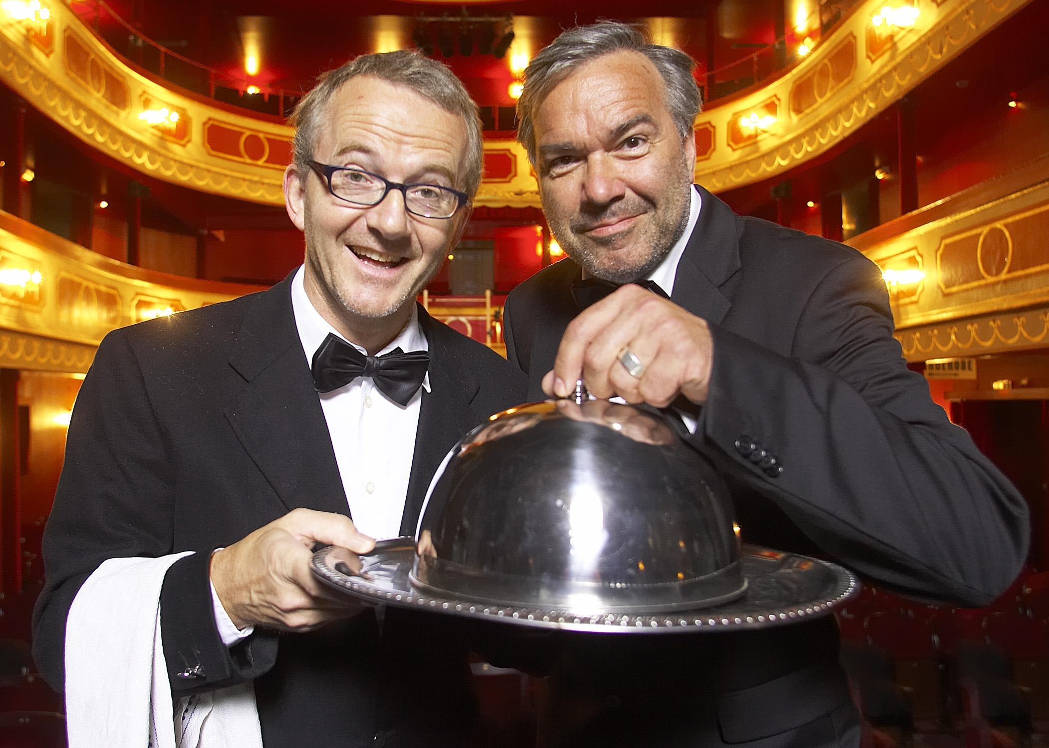 Die große Freiheit - Rolf Claussen und Stephan Gwildis - © St. Pauli Theater