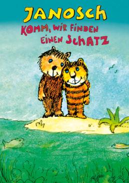 Janosch – Komm, wir finden einen Schatz - Plakatmotiv - © Little tiger Verlag GmbH, Gifkendorf