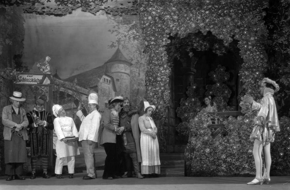 Weihnachtsmärchen Dornröschen 1930er-Jahre