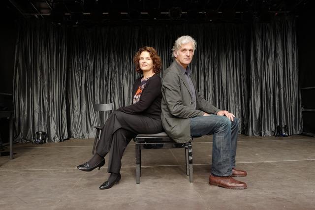 Barbara Auer und Walter Sittler, © Sigrid Klausmann-Sittler